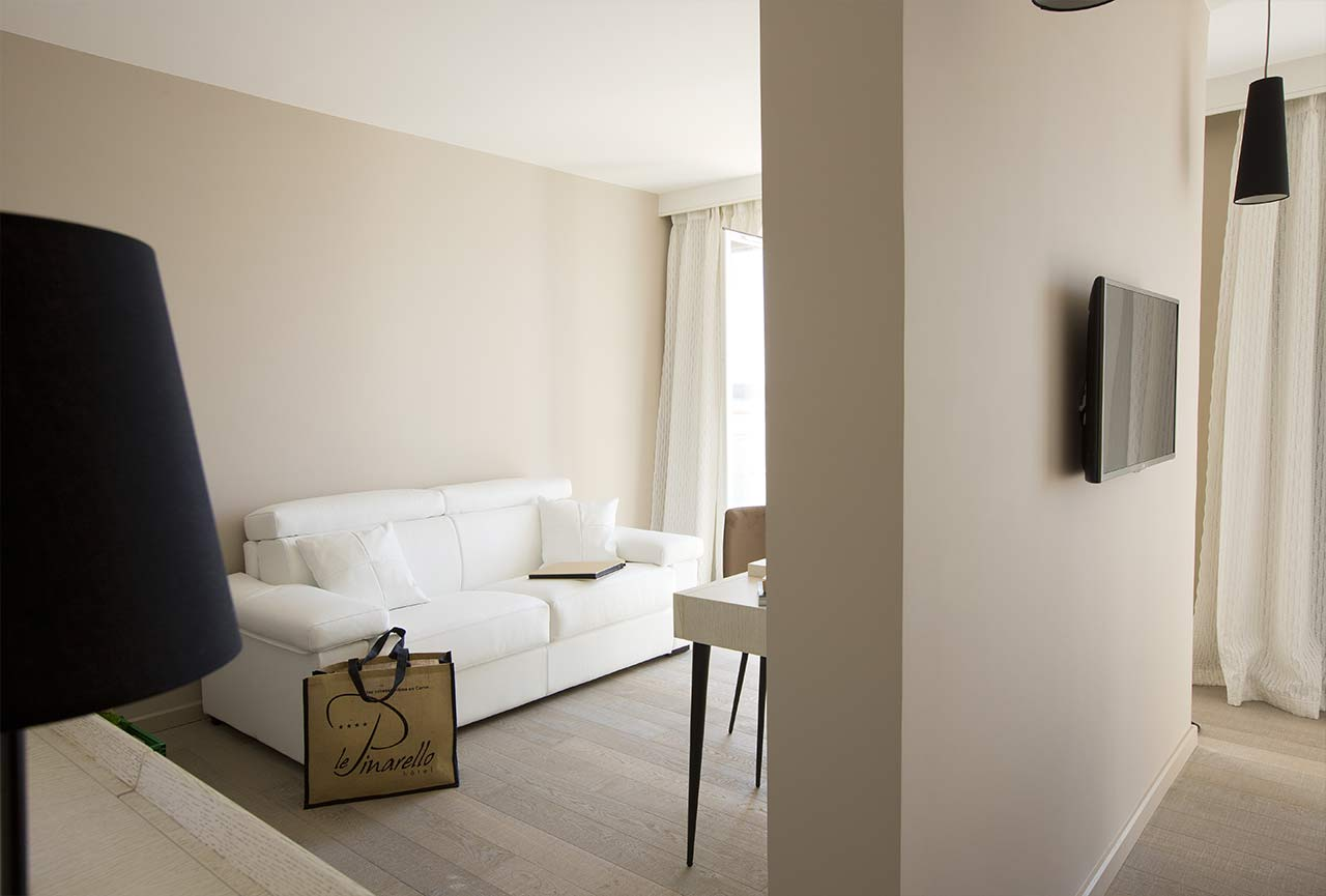 Chambre suite luxe Porto vecchio hotel luxe le Pinarello