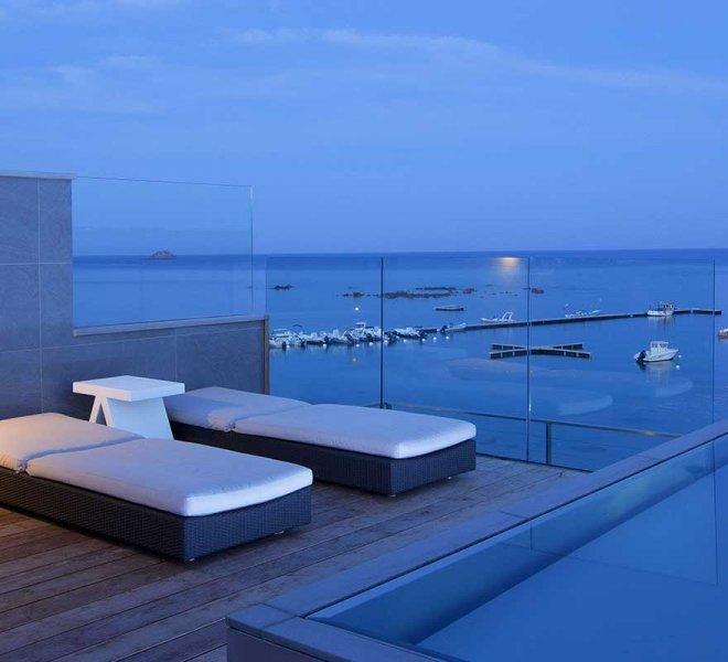 piscine hôtel spa le pinarello à Porto-Vecchio en Corse