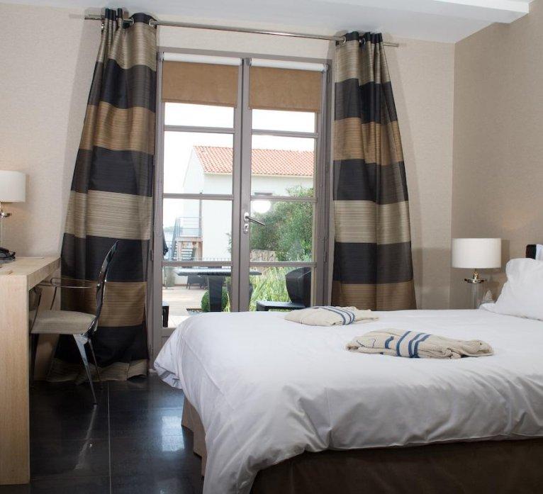 Résidence chambre Fautea hôtel luxe Le Pinarello en Corse