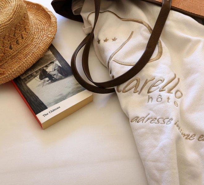 Accessoires de plage hôtel spa Le Pinarello à Porto-Vecchio