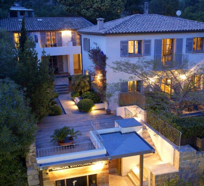 Résidence de nuit hôtel spa Le Pinarello en Corse