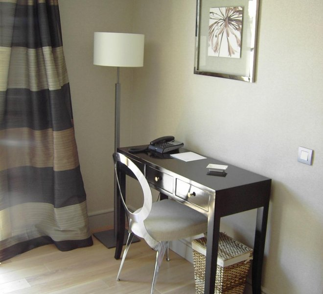 Salon suite duplex Cyprian hôtel spa Le Pinarello en Corse
