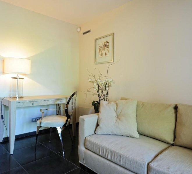 Salon résidence suite duplex rouf à porto-vecchio en corse hotel