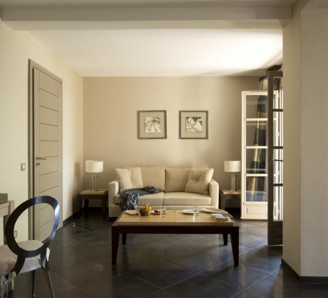 Salon résidence villa Rusant hôtel luxe le pinarello à porto-vecchio