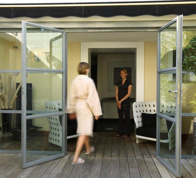 spa espace bien être luxe hôtel Le Pinarello en Corse