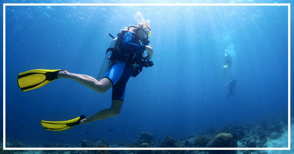 Plongée sous marine activité Le Pinarello Hôtel luxe Corse