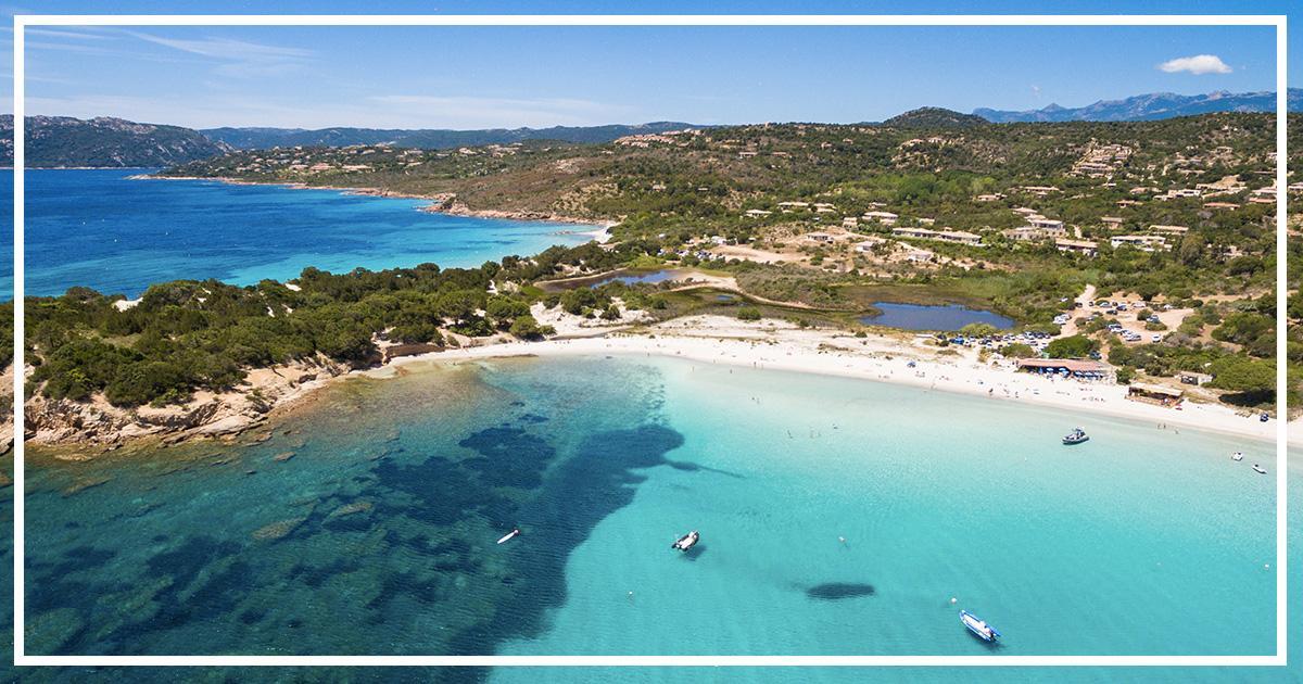 plage palombaggia activités de l'hôtel Le Pinarello à Port-Vecchio en Corse