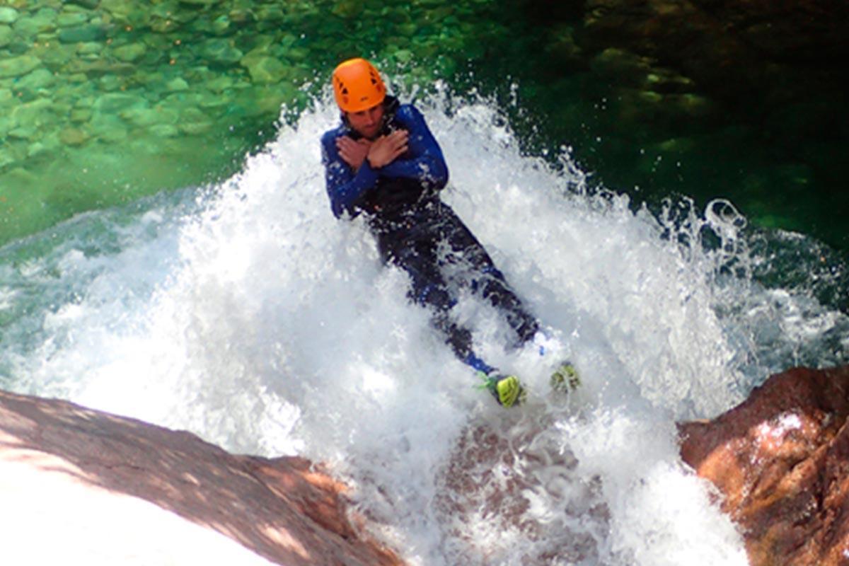 aquacanyon activités à Porto-Vecchio Le Pinarello hotel