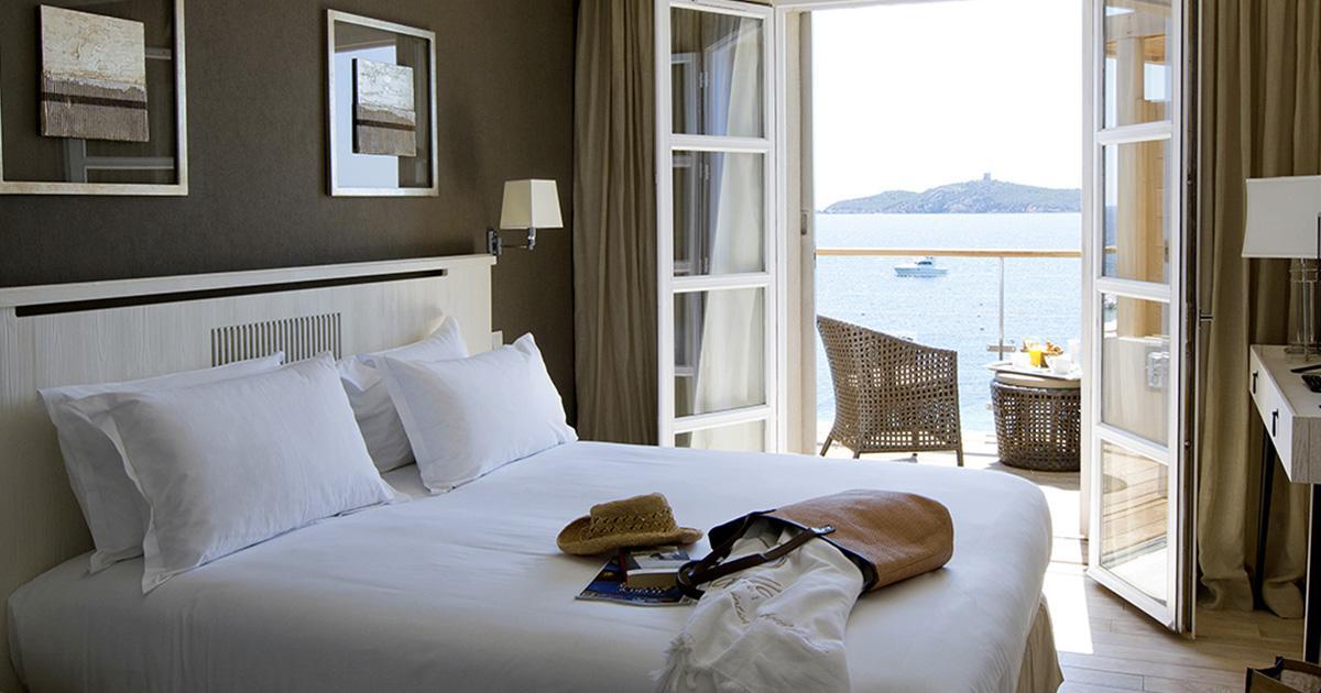 chambre standard hôtel Le Pinarello à Porto-Vecchio en Corse