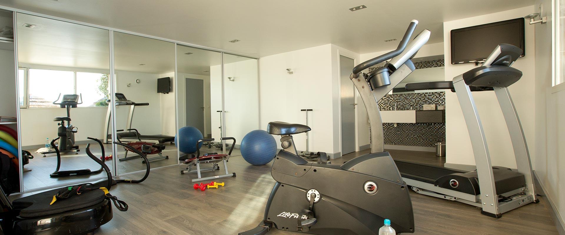 salle de sport fitness spa à hotel le pinarello à Porto-Vecchio
