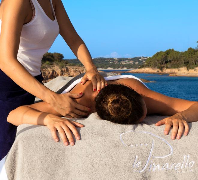Massage sur l'eau
