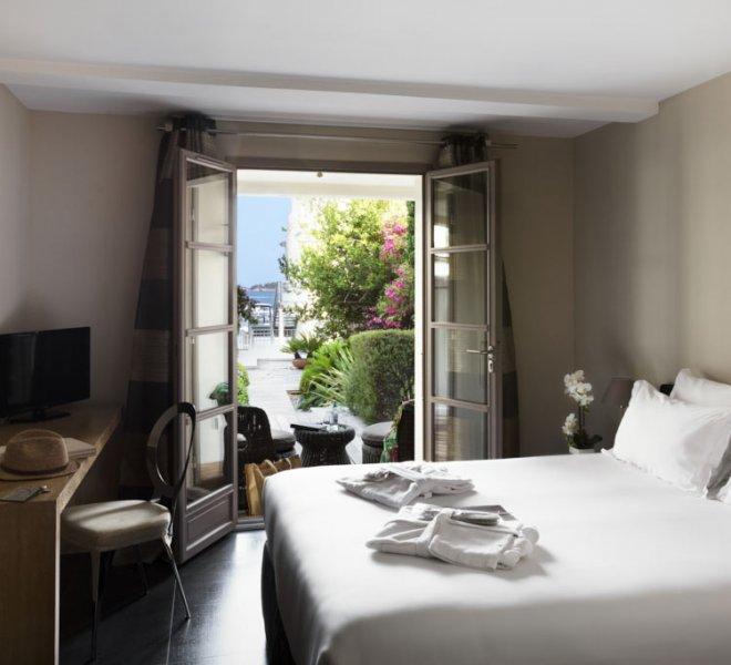 Fautéa standard room with terrace