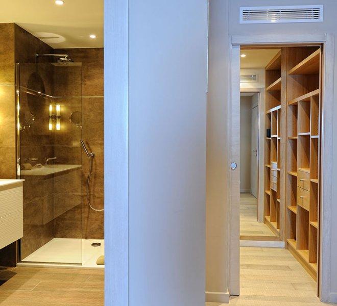 Chambre Luxe dressing Hotel Porto-Vecchio